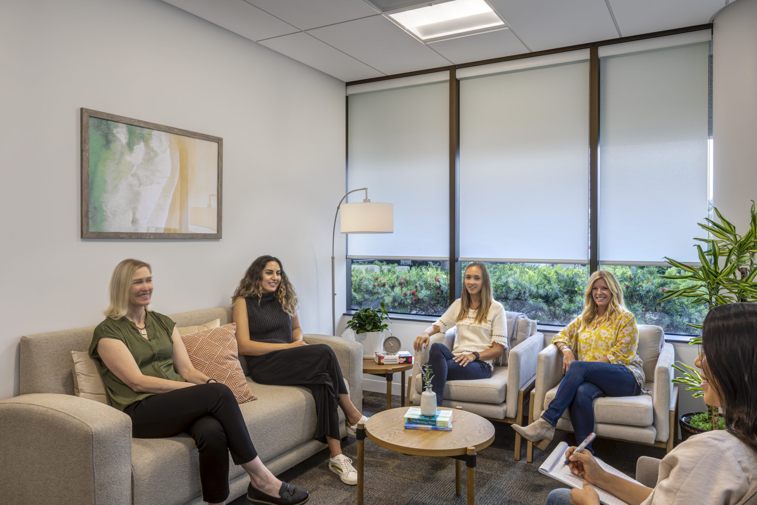 Group Therapy Room at Ethera Irvine